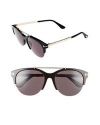 Tom Ford   Black Adrenne 55mm Sunglasses   Lyst