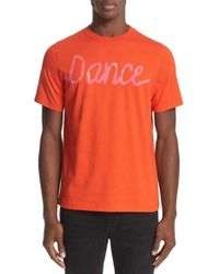 PS by Paul Smith | Red Graphic T-shirt for Men | Lyst