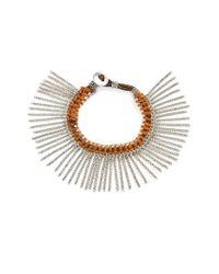 Treasure & Bond   Multicolor Treasure&bond Fringe Bracelet   Lyst