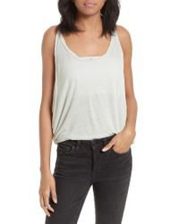 Free People | Red Sand Dollar Tank | Lyst