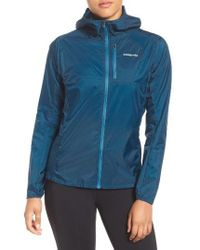 Patagonia | Blue Houdini Water Repellent Jacket | Lyst