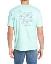 Vineyard Vines | Blue Fish Graphic T-shirt for Men | Lyst