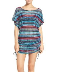 Gottex | Blue Cozumel Cover-up Tunic | Lyst