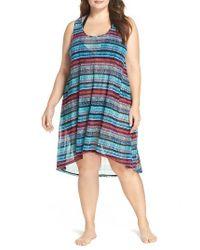 Gottex | Blue Cozumel Cover-up Dress | Lyst