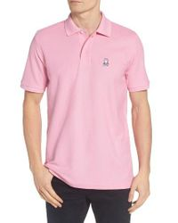 Psycho Bunny | Blue The Classic Pique Polo for Men | Lyst