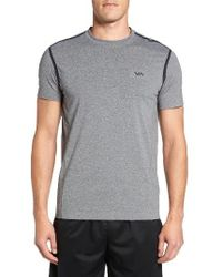 RVCA | Gray Grappler Compression T-shirt for Men | Lyst