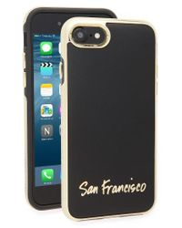 Rebecca Minkoff | Black San Francisco Iphone 7 Case | Lyst