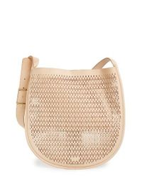 Skagen | Natural Janna Perforated Leather Hobo | Lyst