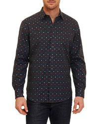 Robert Graham | Gray Orion Arm Classic Fit Sport Shirt for Men | Lyst