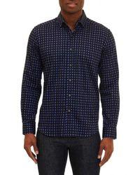 Robert Graham | Purple Barnaby Tailored Fit Check Sport Shirt for Men | Lyst
