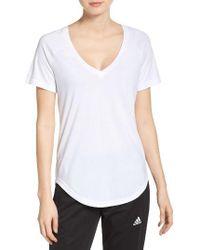 Adidas Originals - White Id Tee - Lyst