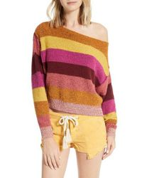 Free People - Multicolor Candyland Pullover - Lyst