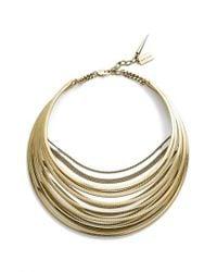 Jenny Bird - Metallic Illa Collar Necklace - Lyst
