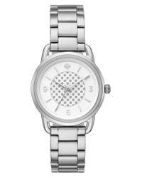 Kate Spade | Metallic Boathouse Bracelet Watch | Lyst