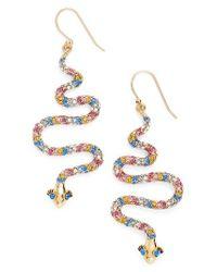 Kate Spade   Multicolor Spice Things Up Drop Earrings   Lyst