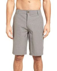 Jack O'neill | Gray Sterling Stretch Hybrid Shorts for Men | Lyst