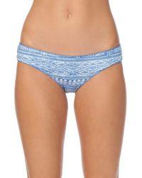 Rip Curl   Blue High Tide Hipster Bikini Bottoms   Lyst
