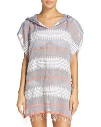 lemlem | Multicolor Tabtab Cover-up Poncho | Lyst