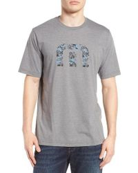 Travis Mathew | Gray Rossi Graphic T-shirt for Men | Lyst