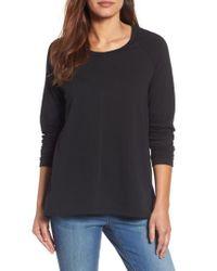 Caslon - Black Caslon A-line Sweatshirt - Lyst