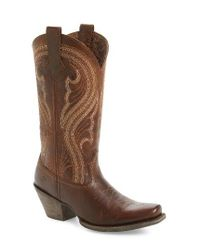 Ariat | Brown Lively Western Boot | Lyst