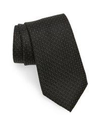 Calibrate | Black Geometric Silk Tie for Men | Lyst