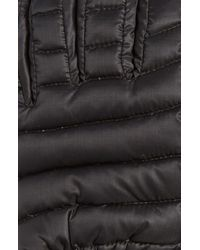 Canada Goose Black Lightweight Quilted Down Gloves