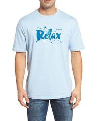 Tommy Bahama | Blue Splash Original Fit T-shirt for Men | Lyst