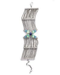 Jenny Packham | Multicolor Wanderlust Chain Bracelet | Lyst