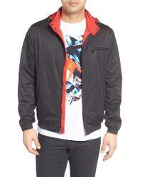Bugatchi | Black Reversible Jacket for Men | Lyst
