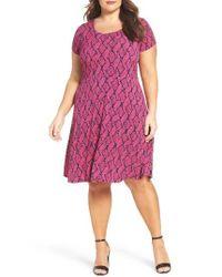 MICHAEL Michael Kors | Pink Mamba A-line Dress | Lyst