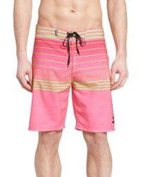 Hurley | Pink Phantom Peters Board Shorts for Men | Lyst