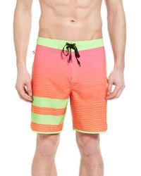 Hurley | Pink Phantom Block Party Speed Board Shorts for Men | Lyst