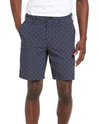 Hurley | Blue Dri-fit Gliff Shorts for Men | Lyst