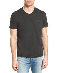 Jeremiah | Black Gus Pad Pocket V-neck T-shirt for Men | Lyst