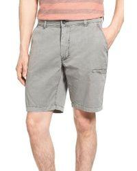 Jeremiah | Gray Merrill Pigment Slub Poplin Shorts for Men | Lyst