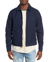Brixton | Blue Perry Jacket for Men | Lyst
