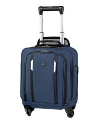 Victorinox Blue Victorinox Swiss Army 'wt 5.0' Wheeled Tote Bag for men