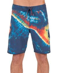 Volcom | Blue Yin Yang Slinger Board Shorts for Men | Lyst