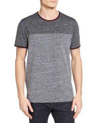 Ted Baker   Gray Bike Colorblock T-shirt for Men   Lyst