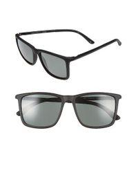 Le Specs | Black Tweedledum 55mm Polarized Sunglasses | Lyst