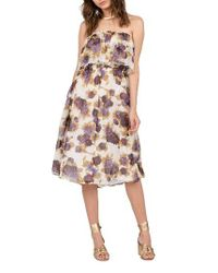 Volcom | Multicolor Canyon Call Floral Print Dress | Lyst