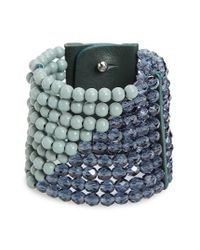 Fairchild Baldwin | Green Masai Beaded Bracelet | Lyst