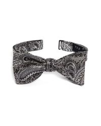 Ted Baker | Black Roxbury Paisley Silk Bow Tie for Men | Lyst