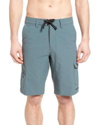 Patagonia | Blue Moc Hybrid Shorts for Men | Lyst