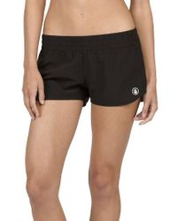 Volcom | Black Simply Solid Board Shorts | Lyst