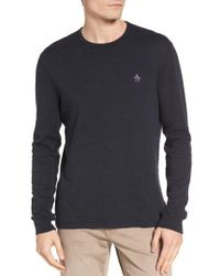 Original Penguin | Blue Reversible Long Sleeve T-shirt for Men | Lyst