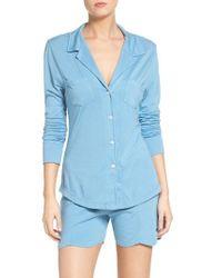 Love+Grace | Blue Amanda Short Pajamas | Lyst