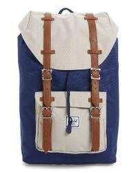 Herschel Supply Co. | Blue Little America - Mid Volume Backpack for Men | Lyst