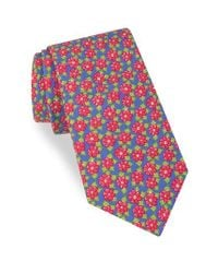 Ted Baker | Red Monmouth Floral Silk Tie for Men | Lyst